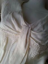 Carole Little Dresses Ivory Dress sz 14 Made in USA Wedding VINTAGE