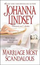 * Marriage Most Scandalous by Johanna Lindsey GOOD PB COMBINE&SAVE