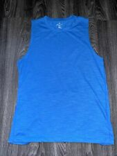 Nwot Men's Fabletics Front Row Sleeveless Tank Top Size Large Retail $34.95