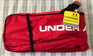 Under Armour LAX Women's Travel Bag UA Lacrosse Red Storm 44x7x12 Brand New NWT!