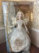Queen Mirana White Film Alice Looking Glass Disney Princess Doll Barbie