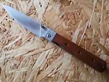 Herbertz Taschenmesser Campingmesser Kochmesser Messer Tagayasan-Holz 253113
