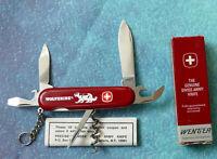 Original WENGER Swiss Army Knife WOLVERINE 16938 NEW Genuine Rare Ring Chain Box