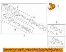 TOYOTA OEM 07-09 Camry Drive Axles-Front-Bearing Support 4345706020