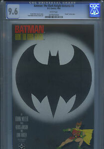BATMAN: THE DARK KNIGHT RETURNS #3 1986 CGC 9.6 NM+ FRANK MILLER DC Comics JOKER