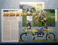 MOTOSPRINT991-PROVA / TEST-1991- HUSABERG MC 501 - PROVA NOVITA' - 3 fogli