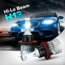 2X H13 9008 CREE LED Headlight Super Bright Bulbs Kit 2000W 300000LM HI-LO Beam