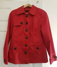 Women's Red Next Coat. Size 12. Coat with inner lining.
