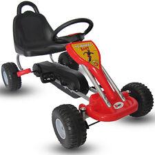 Kiddo 2017 Classic Design Red Kids Childrens Pedal Go-Kart Ride-On Car - New