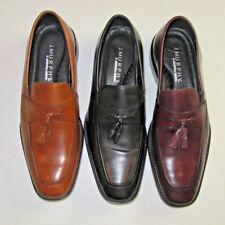 $145 New Johnston & Murphy J Murphy slip on tassel Novick shoe 11 M Brown