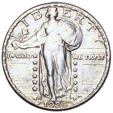 1926-S Standing Liberty Silver Quarter, Absolute Stunning 25c San Fran. Mint NR!