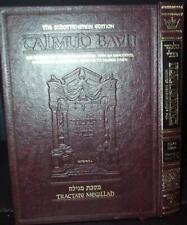 Talmud Bavli, Artscroll Schottenstein Folio Ed Hebrew & English Judaica