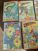 Bronze Age Comics (Lot of 10) Superman