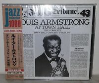 2 CD LOUIS ARMSTRONG - AT TOWN HALL - JAPAN SICP 4005-6