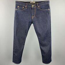 SPURR Size 34 Indigo Contrast Stitch Selvedge Denim Zip Fly Jeans
