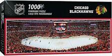 CHICAGO BLACKHAWKS STADIUM PANORAMIC JIGSAW PUZZLE NHL 1000 PC
