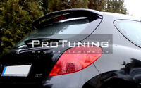FOR PEUGEOT 207 ROOF SPOILER COVER WING DOOR TAILGATE