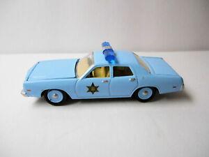 FOREVER 64 LIGHT BLUE 1977 DODGE MONACO SHERIFF CAR wRRs BY JOHNNY LIGHTNING
