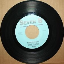 EARL TEMPLE Midnight Sax **SAXY COUNTRY** Blues Sax Inst. 45 on SEVEN B 7038