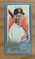 2020 Topps Allen & Ginter X Silver 1/1 Parallel RAFAEL DEVERS Boston Red Sox