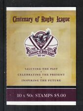 Australia 2008 Rugby League 100th sa bklt-Attractive Sports Topical (2829a) Mnh