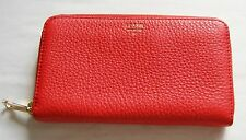 Da Donna Rosso FOSSIL Leather Wallet Purse