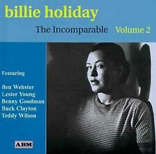 Billie Holiday-The Incomparable Volume 2 CD