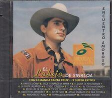El Lobito De Sinaloa Con la Banda Santa Cruz 17 Super Exitos CDNew Nuevo sealed