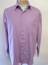 Ben Sherman men's Purple Long Sleeved Casual Shirt L 42-44 Euro 52-54
