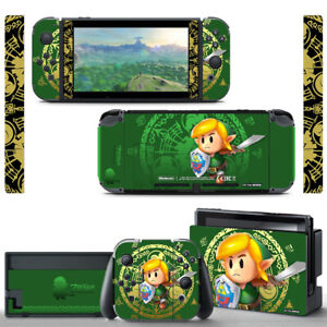 Nintendo Switch Vinyl Skin - Link's Awakening Decal Sticker & Screen Protector