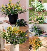 JT21 6 Branches/1 Bouquet Artificial Flower Gypsophila Wedding Party Home Decor
