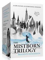 Brandon Sanderson Mistborn Trilogy Collection 3 Books Box set (Final Empire) New