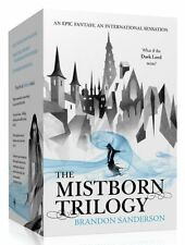 Brandon Sanderson Mistborn Trilogy Collection 3 Books Box set (Final Empire) New