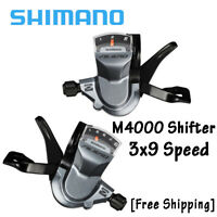 Shimano Alivio M4000 Rapid Fire Plus 3x9Speed Shifters Set W/Cable