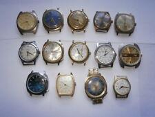 Trabajo Lote De Vintage Gents Relojes Relojes mecánicos Repuestos O Reparación
