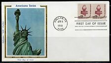 United States Colorano 1981 Freedom Of Conscience First Day Cover