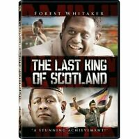 The Last King Of Scotland Full Screen Edition On DVD With James Mcavoy E67