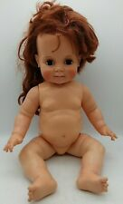 "Vintage Ideal Baby Crissy Doll 23"" Grow Hair Vinyl 1972 Auburn Redhead w/ Pull"