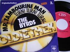 """7"""" - Byrds Mr.Tambourine Man & Turn Turn Turn - MINT # 1035"""