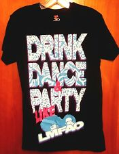 LMFAO electronic dance duo T shirt small Party Rock Anthem tee Drink Dance rap