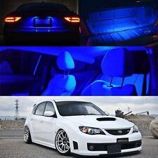 04-11 Subaru Impreza WRX STI Interior Xenon BLUE LED Bulb Full Package (QTY X6)