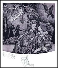 Agirba Ruslan 2002 Exlibris C3 Project Mozart Magic Flute Erotic Music Bird 236p