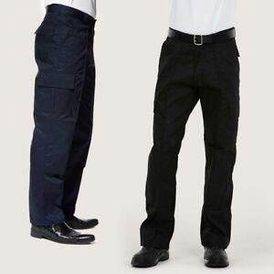 Cargo Trousers Workwear by UNEEK UC904 - Regular or Long - Black or Navy