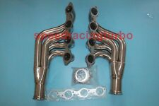 STAINLESS STEEL TURBO MANIFOLD EXHAUST HEADER FOR BIG BLOCK 396-572 6.5-9.4 BBC