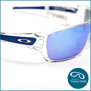 NEW Oakley Turbine Rotor Polished Clear Sapphire Iridium (9307-10) Sunglasses
