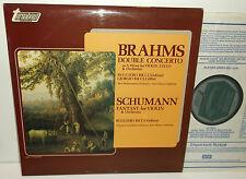 TV 34593S Brahms DOPPIO CONCERTO & Schumann FANTASY RUGGIERO RICCI/KURT Masur