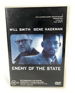 Enemy of the State (DVD, 1998) Will Smith Region 4 Free Postage
