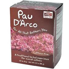 PAU D'ARCO TEA BAGS 24 BAGS By Now Foods