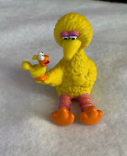 Muppets Applause Sesame Street Big Bird Holding Bird PVC Figure