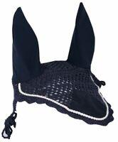 Harry's Horse Crochet Bonnet Ear Net - Navy Blue Harry's Horse
